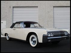 Auction Lot Anaheim, CA Frame-on restoration. Power top for convertible hides in trunk. Lincoln Motor Company, Ford Motor Company, Cedarville Ohio, Convertible, Ford Lincoln Mercury, Lincoln Continental, Custom Cars, Cadillac, Muscle Cars
