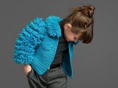 Moderne Kleidung für Kleinkinder - Strickjacke für Mädchen