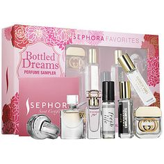 Sephora Favorites - Bottled Dreams Perfume Sampler #sephora