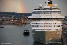 Kreuzfahrtschiff Costa Regenbogen