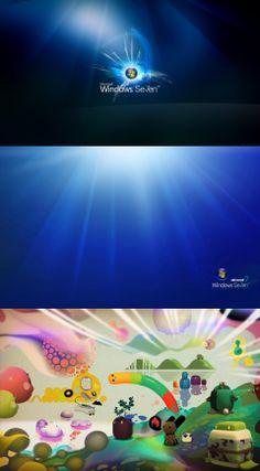 Wallpaper Image Windows Computers Seven