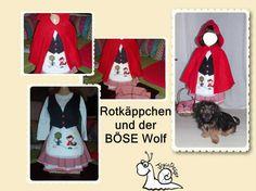 """Rotkäppchen und der kleine """"böse"""" Wolf :)"""