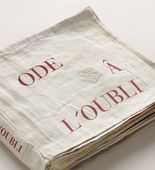 illustrated book, Ode à l'oubli. Louise Bourgeois