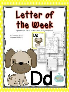 Letter D {Letter of the Week}