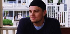 Leonardo DiCaprio as Billy Costigan. The Departed. The accent. The end.