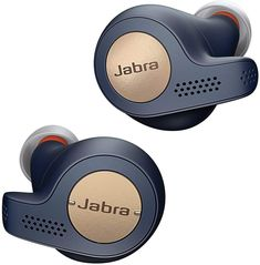 Jabra Elite Active True Wireless Bluetooth Sports Earbuds and Charging Case with Alexa Built-In, Copper Blue Wireless In Ear Headphones, Sport Earbuds, Best Headphones, Sports Headphones, Audio Hifi, Kit Main Libre, Active, Noise Cancelling, Musica