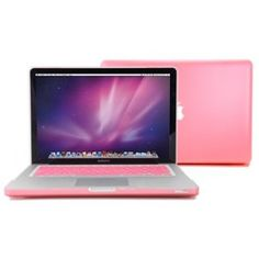 "GMYLE (TM) Pink Rubberized-see-through Hard Case Skin for Macbook Pro 13 Inches 13"" with Pink Protective Keyboard Cover by GMYLE  (50)Buy new: $29.99  $14.60 5 used & new from $10.90(Visit the Best Sellers in Luggage & Bags list for authoritative inf.."