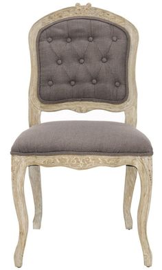French Tufted Dining Chairs
