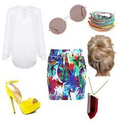 walking paradise by popalah on Polyvore featuring polyvore fashion style Velvet ALDO Kenneth Jay Lane Sunday Somewhere