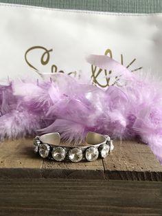A personal favorite from my Etsy shop https://www.etsy.com/listing/510374181/12mm-swarovski-crystal-cuff-bracelet-in