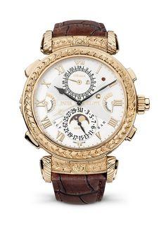 La montre Grandmaster Chime 5175 de Patek Philippe 175 ans http://www.vogue.fr/joaillerie/le-bijou-du-jour/diaporama/la-montre-grandmaster-chime-5175-de-patek-philippe-175-ans/20883