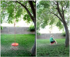 How To Make Simple DIY Tree Swing | DIY Tag