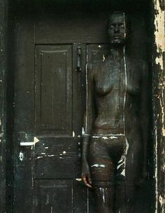 body painting; door