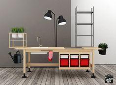 Unacucina - kitchen based 100%ly on Ikea hacks.