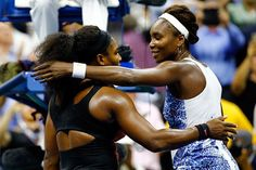 """Venus & Serena.   it would be a moment for our family."""" """"It's the greatest story in tennis,"""" Serena said at the news conference after the match. """"Because of where we come from and how we started. It doesn't get better for us [now]. And the people that we've inspired."""""""
