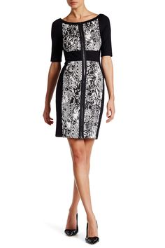 Snake Print Zip Dress by Grayse on @HauteLook