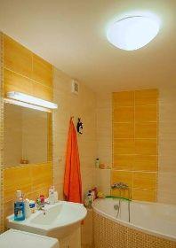 Osvětlení koupelny v paneláku | NÁVRHY A DODÁVKY OSVĚTLENÍ