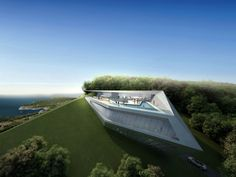 Concept Villas for golf & spa resort, Dubrovnik, By Zaha Hadid Architect