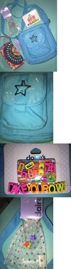 Purses and Wallets 15629: Girls Claire S Star Bag Purse Wallet Rhinestone Earrings Necklace Name Bracelet -> BUY IT NOW ONLY: $34.99 on eBay!
