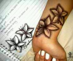 Hawii flowers.......i want this tat!!