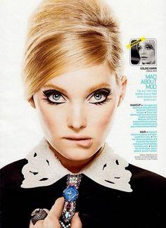 Elsa Hosk- Goldie Hawn look