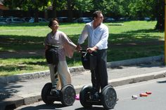 Wedding in Rome yes, but with SEGWAY ROME
