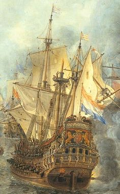 "hms-surprise: "" Flagship Brederode. by Jan Abrahamsz. Beerstraaten (17th century, Netherlandish) """