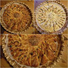 Moje tvořeníčko...slaný trhací koláč