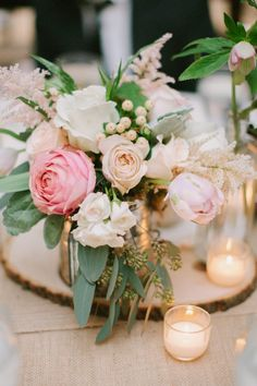 Shabby Chic Wedding Decor, Rustic Shabby Chic, Rustic Wedding, Trendy Wedding, Wedding Reception, Rustic Centerpieces, Wedding Table Decorations, Decoration Table, Estilo Shabby Chic