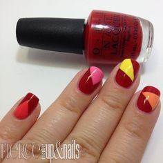 Fierce Makeup and Nails: The Digit-al Dozen Brands Week- OPI Brazil Tape Mani