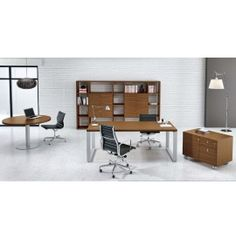 Archimede by Alea Office Office Furniture Design, Furniture Showroom, Chair Design, Best Home Interior Design, Cubicle, Office Desk, Layout, Inspiration, Space