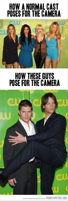 Oh wonderful Jensen and Jared. c: