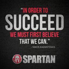 Believe. #COMMIT #SpartanRace