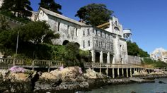 "Alcatraz----It's now a National Historic Landmark, but Native Americans once believed the island to be cursed, calling it ""Evil Island."""