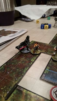 """Brushfire"" Then Darth Vader showed up and we all ran screaming like little children! #imperialassault"