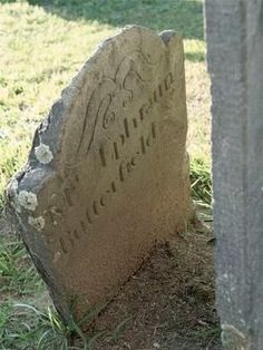 Tombstone Ephraim Butterfield 1710-1777