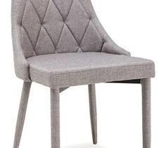 Krzesło Trix Szary - Krzesła do salonu - zdjęcia, pomysły, inspiracje - homebook