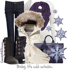 """winter"" by candy420kisses on Polyvore"