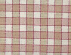 PROVENCAL - Rose/Orange - Pierre Frey - Provençal checked fabric from the 19th century that will never go out of fashion and can be used for both seats and curtains.