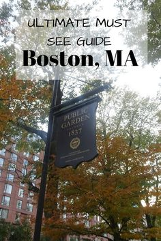 Must-see guide to Boston - Boston, Massachusetts is the gateway to New England and one of my favourite East coast cities. I break down my must-see Guide to Boston, Massachusetts. All the best things to see and do on your trip to Boston Boston Vacation, Boston Travel, Vacation Spots, Boston Shopping, Weekend Vacations, Vacation Places, Family Vacations, Weekend Getaways, Vacation Trips