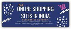 Online shopping sites have had explosive growth. Move back a few years and you will realize that these so called cheap and best online shopping sites were distrusted and people were scared of using their credit cards.Today these top 10 online shopping sites in India have changed the way Indian consumers shop @Amazon @myntra @flipkart