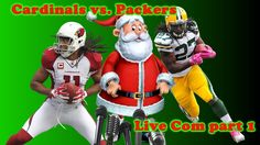 Madden 16 Ranked Gameplay - Cardinals vs Packers Part 1 - Live Com - Mer...