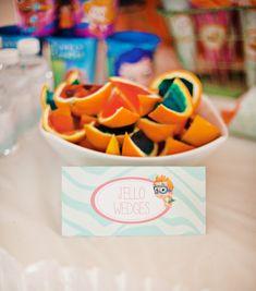 Bubble Guppies Birthday Food Ideas | Cheerful Bubble Guppies Party Ideas // Hostess with the Mostess®