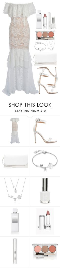 """""""Untitled #4576"""" by natalyasidunova ❤ liked on Polyvore featuring We Are Kindred, Gianvito Rossi, Disney, Topshop, Henri Bendel, Bobbi Brown Cosmetics and Chantecaille"""