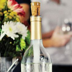 """$24.95    Corkcicle   Enjoy wine at the right temperature-every time. This ingenious gadget chills wine from the inside, keeping both whites and reds where they belong: not too cold, not too warm, and never diluted by ice. Nontoxic, BPA-free, reusable (simply rinse and re-freeze), giftable. 12"""" long."""