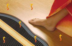 Laminaatverwarming. Nooit meer koude voeten!