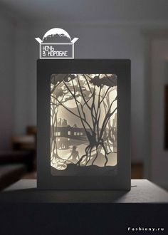 3d Paper Art, Paper Artwork, Kirigami, Tunnel Book, Fallout Art, Diy And Crafts, Paper Crafts, Shadow Box Art, Creation Photo