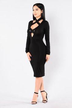 a4f09b024ab6 Switching Up Dress - Black Lace Body