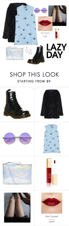 """""""New Age"""" by hnnh-almu ❤ liked on Polyvore featuring Dr. Martens, ZeroUV, Accessorize, Lirika Matoshi and Kate Spade"""