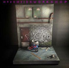 1/12 Scale Urban Diorama (Marvel Legends) Custom Diorama / Playset